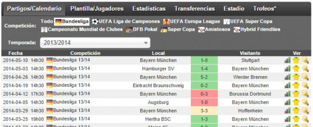bayern-2014-last-8-matches