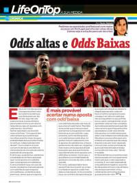 Crónica de Paulo Rebelo en la revista Penthouse Portugal de Julio de 2012