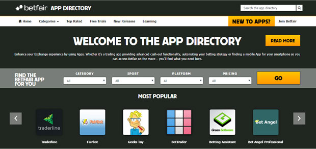 betfair-app-directory